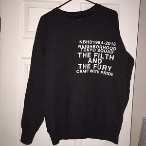 neighborhood Shirts - Neighborhood sweatshirt